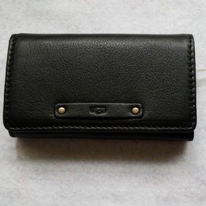UGG Jenna Leather Key Case